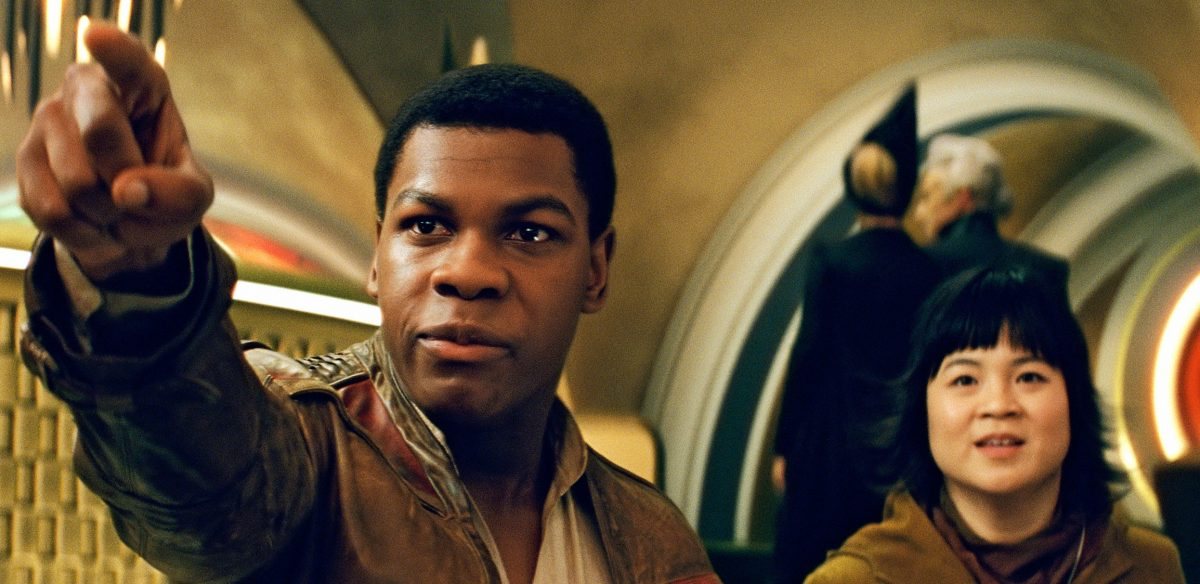 John Boyega as Finn in The Last Jedi and The Rise of Skywalker was upset playing a character of color who has been sidelined.
