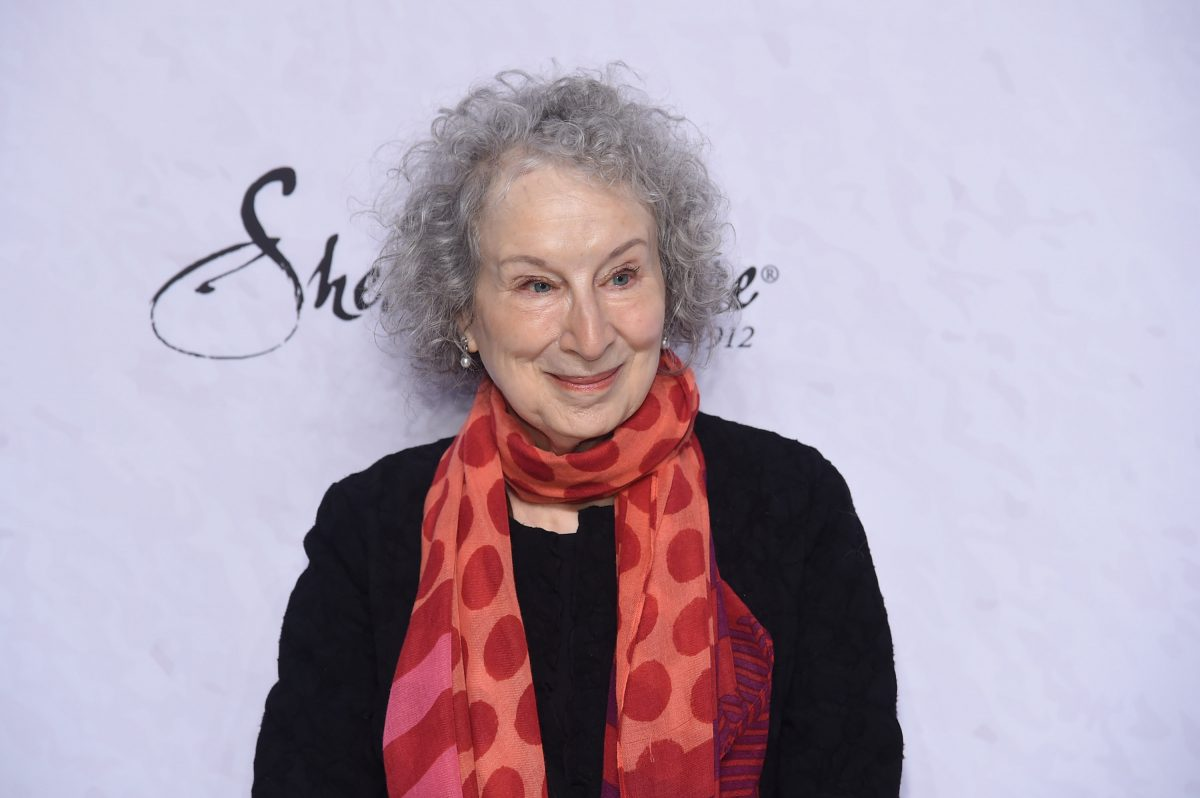 NEW YORK, NY - APRIL 13: Margaret Atwood attends Variety's Power of Women: New York at Cipriani Wall Street on April 13, 2018 in New York City. (Photo by Jamie McCarthy/Getty Images)