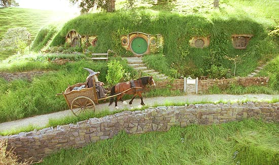 Lord of the Rings Hobbit Hole
