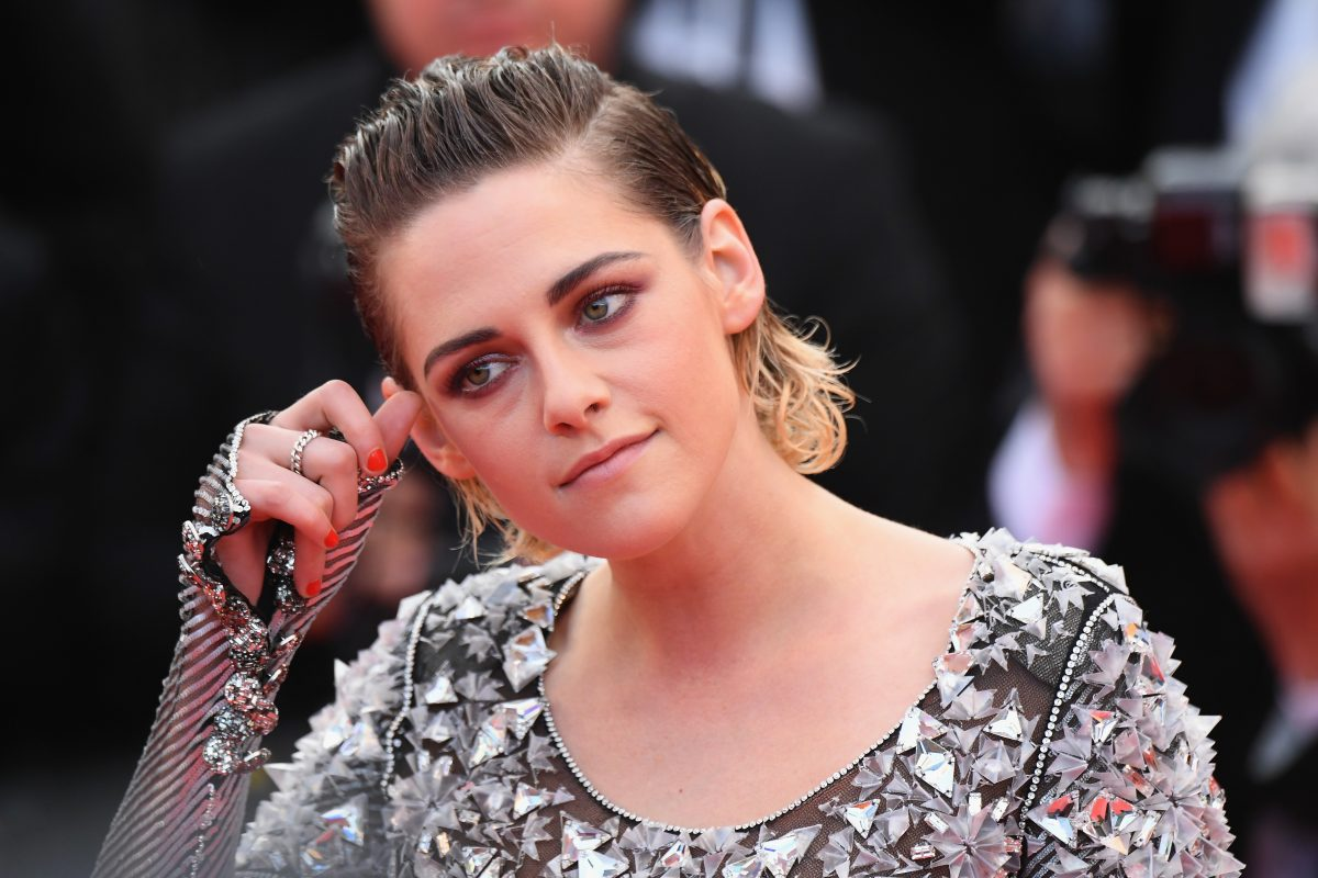 "CANNES, FRANCE - MAY 14: Jury member Kristen Stewart attends the screening of ""Blackkklansman"" during the 71st annual Cannes Film Festival at Palais des Festivals on May 14, 2018 in Cannes, France."