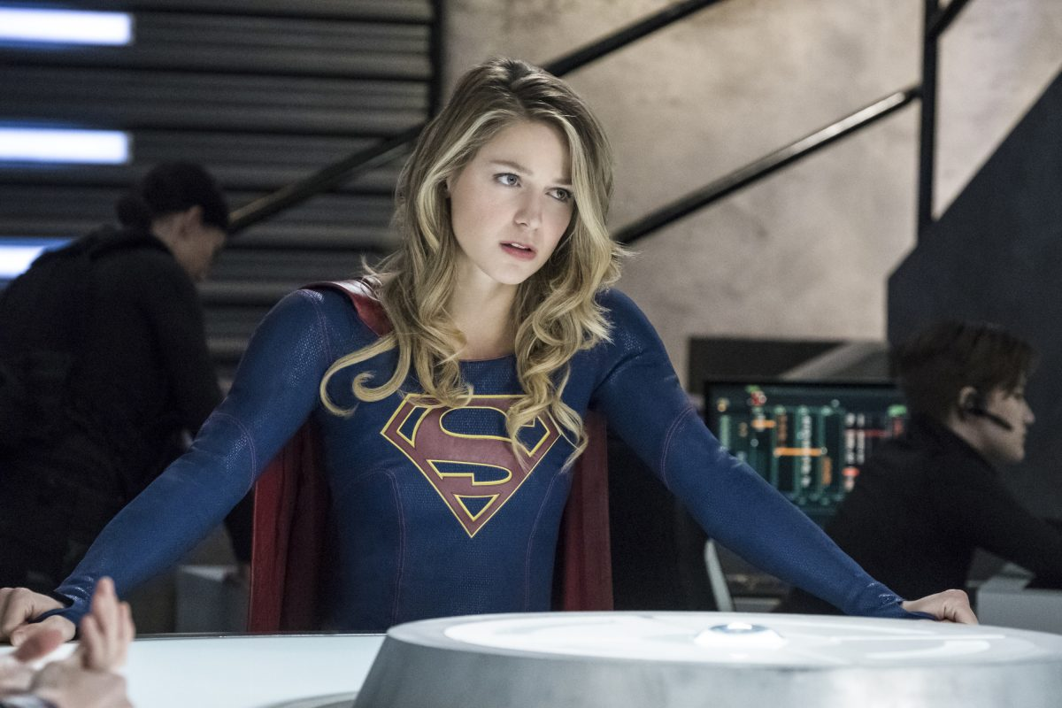 """Supergirl -- """"Trinity"""" -- Pictured: Melissa Benoist as Kara/Supergirl © 2018 The CW Network, LLC. All Rights Reserved."""