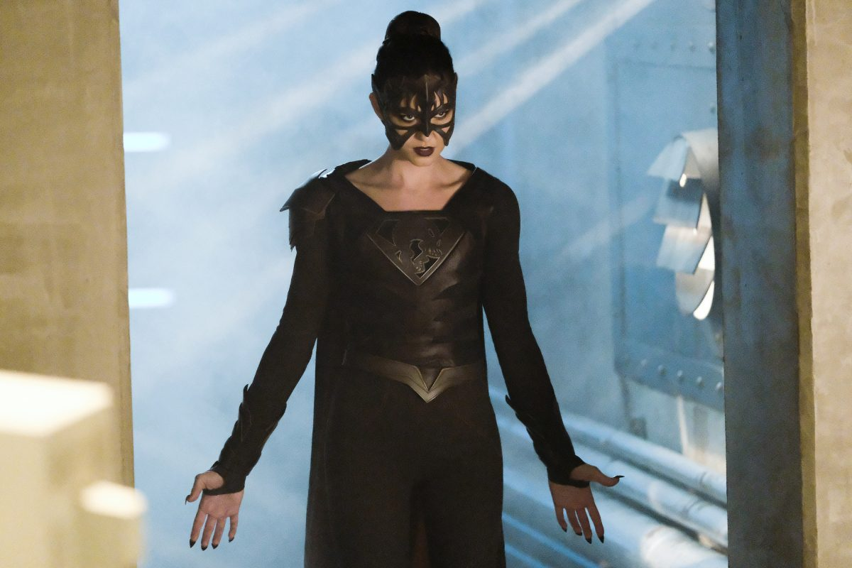 """Supergirl -- """"Shelter From the Storm"""" -- Pictured: Odette Annable as Samantha Arias/Reign -- © 2018 The CW Network, LLC. All rights reserved."""