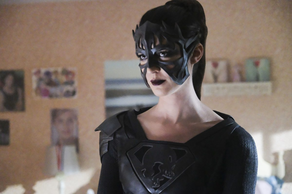 """Supergirl -- """"Shelter From the Storm"""" Pictured: Odette Annable as Samantha Arias/Reign -- © 2018 The CW Network, LLC. All rights reserved."""