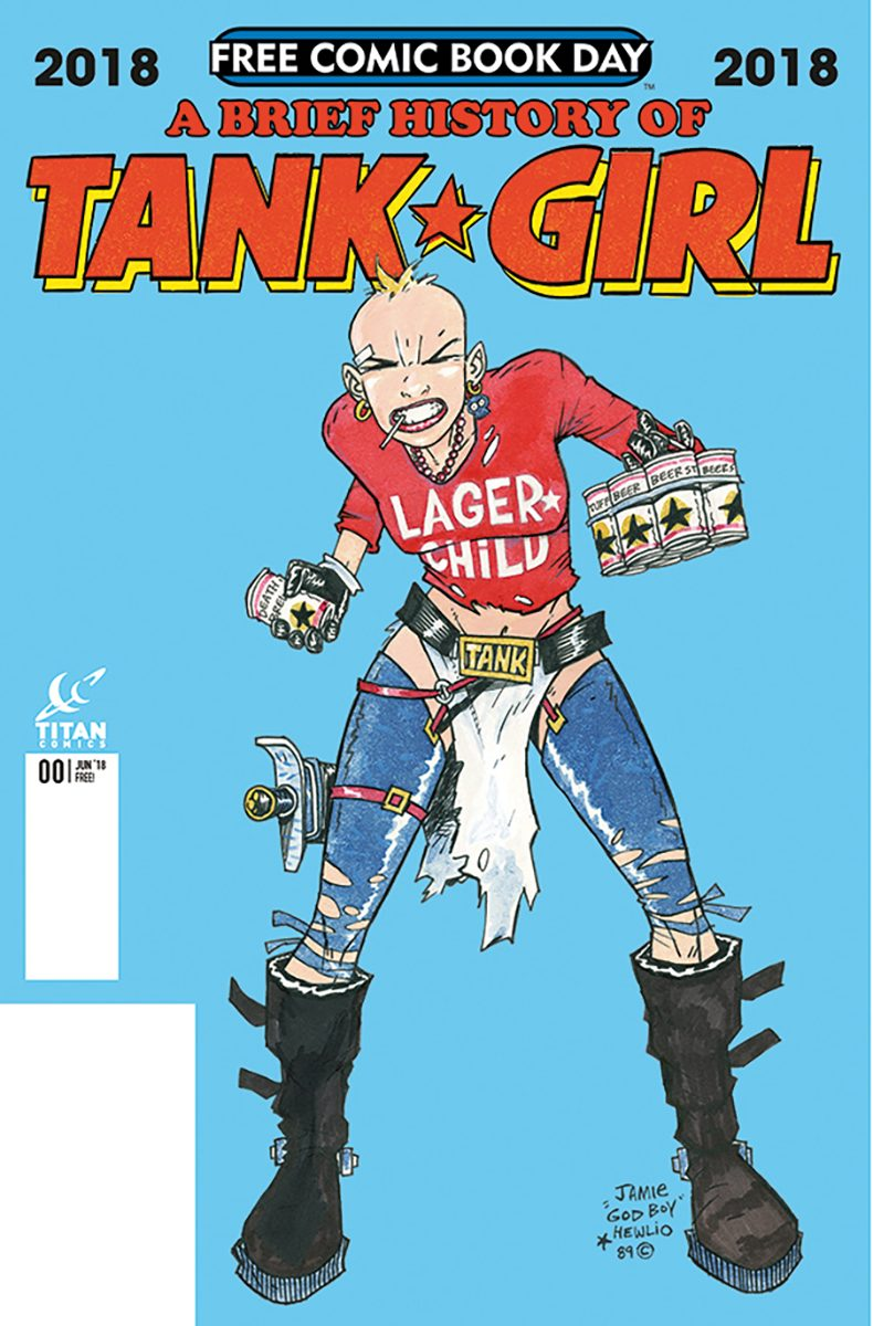 Tank Girl cover issue.