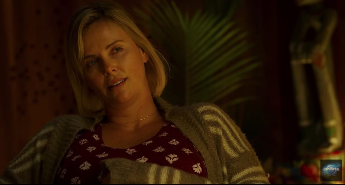 charlize theron in tully screencap from focus features
