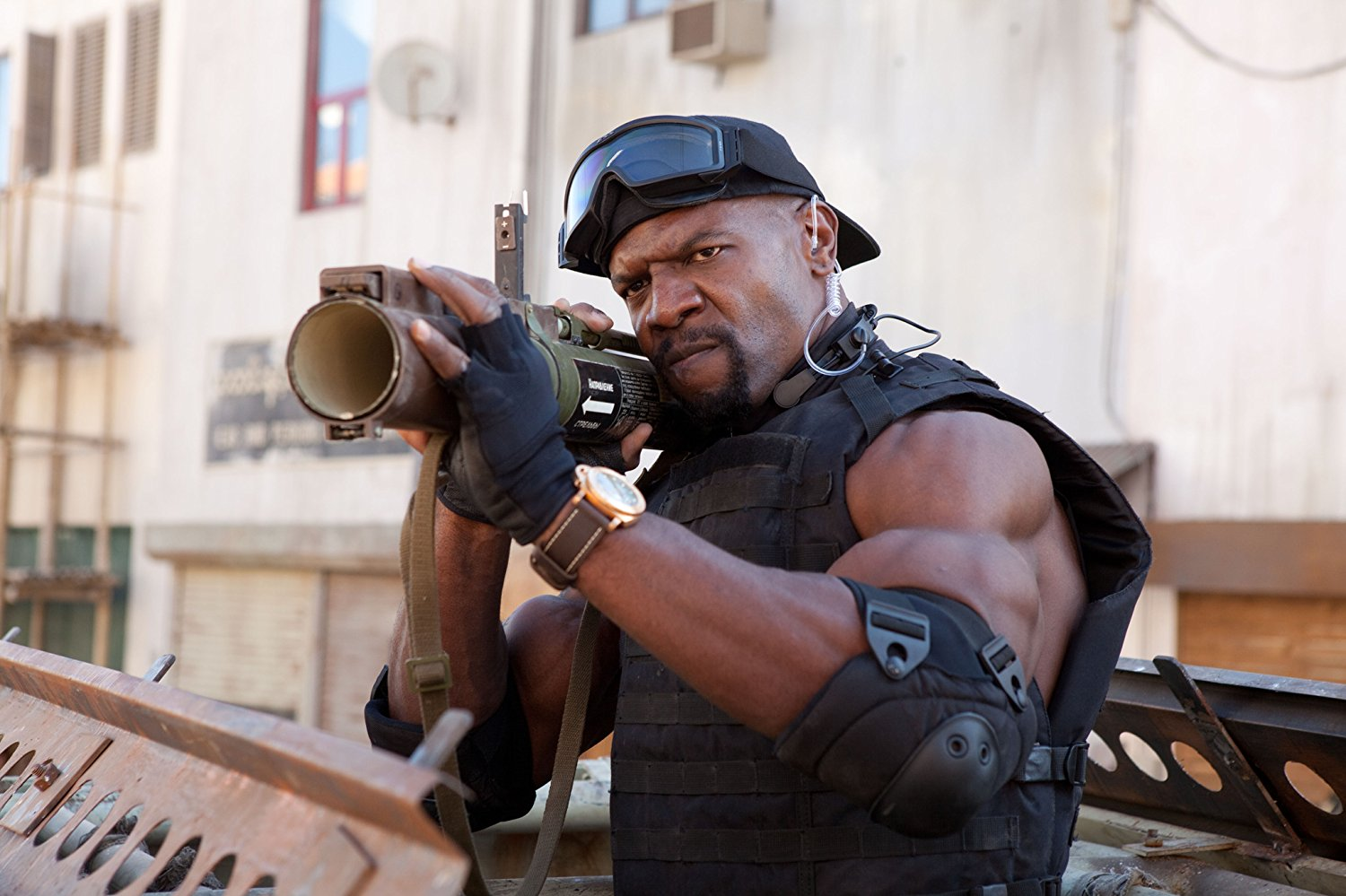 Terry Crews in The Expendables 2 (2012)