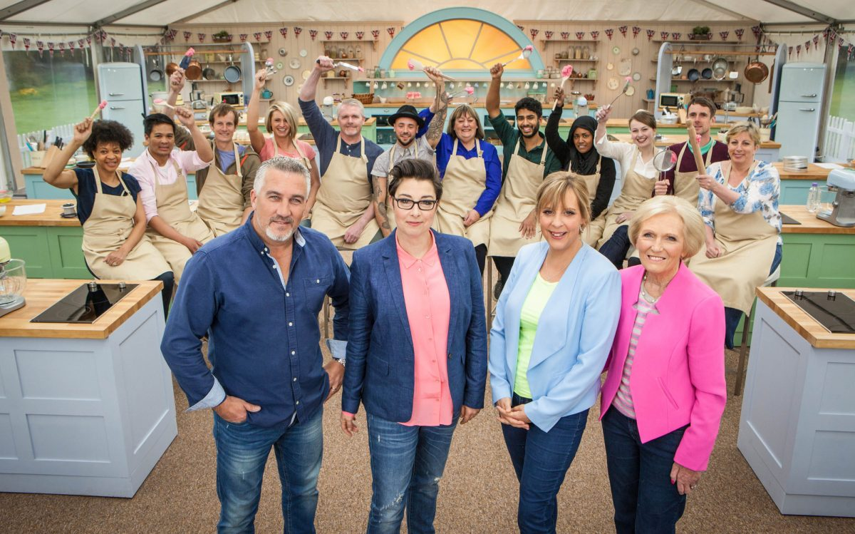 great british bake off baking show