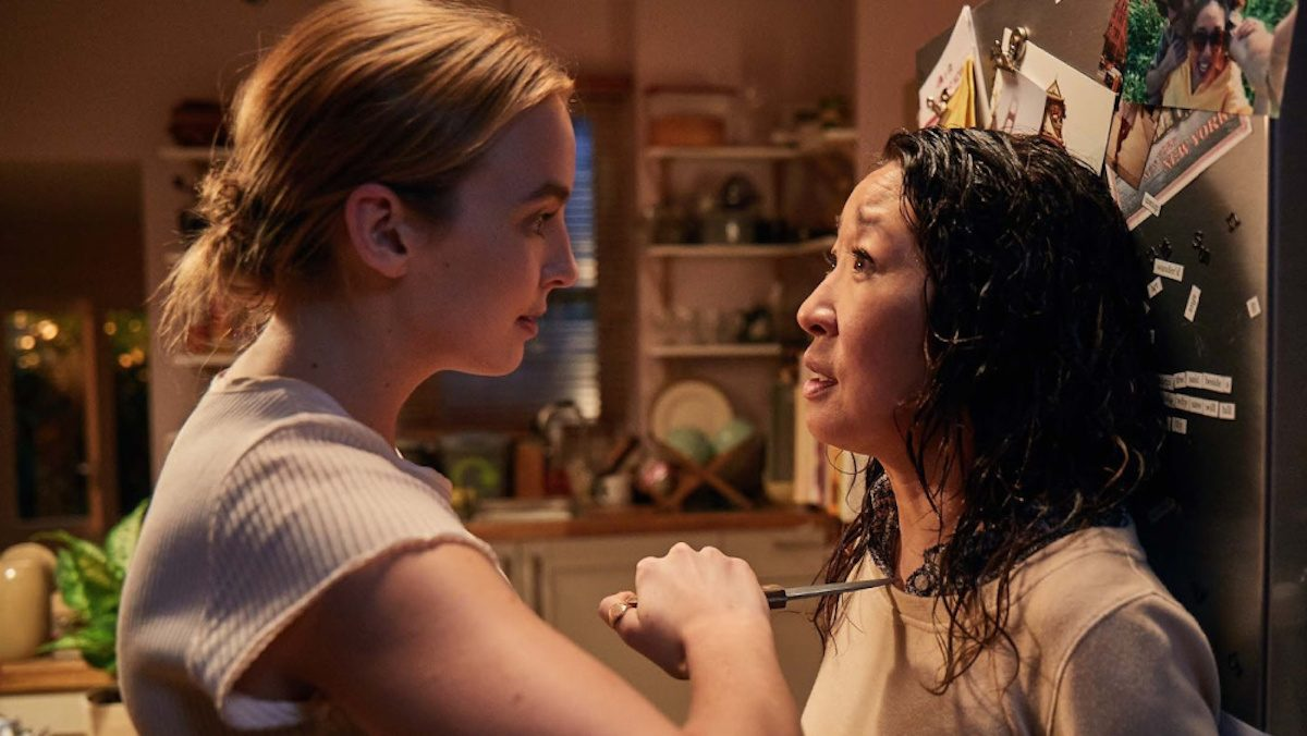 Jodie Comer and Sandra Oh face off in Killing Eve