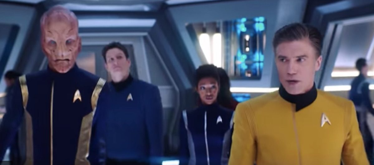 Captain Christopher Pike in Star Trek Discovery