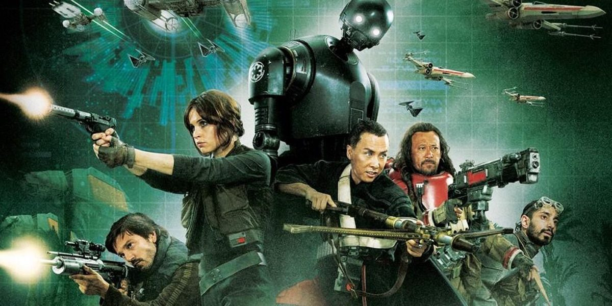 Rogue One: A Star Wars Story poster released by Lucasfilm.