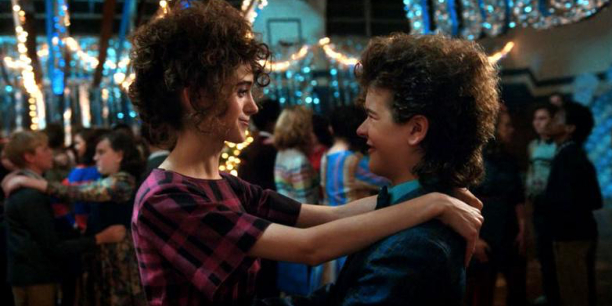 Stranger Things 2 ended with Nancy (Natalia Dyer) stepping up to help Dustin (Gaten Matarazzo) salvage the day at the school dance