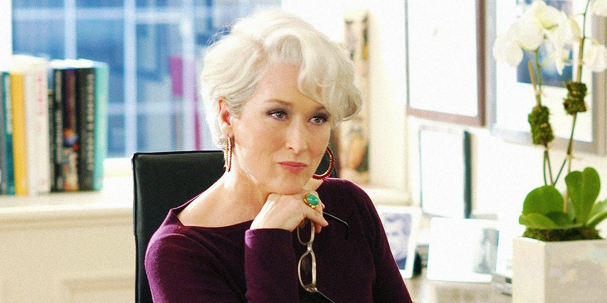 The Devil Wears Prada earned Meryl Streep an Oscar nomination for playing Miranda Priestly
