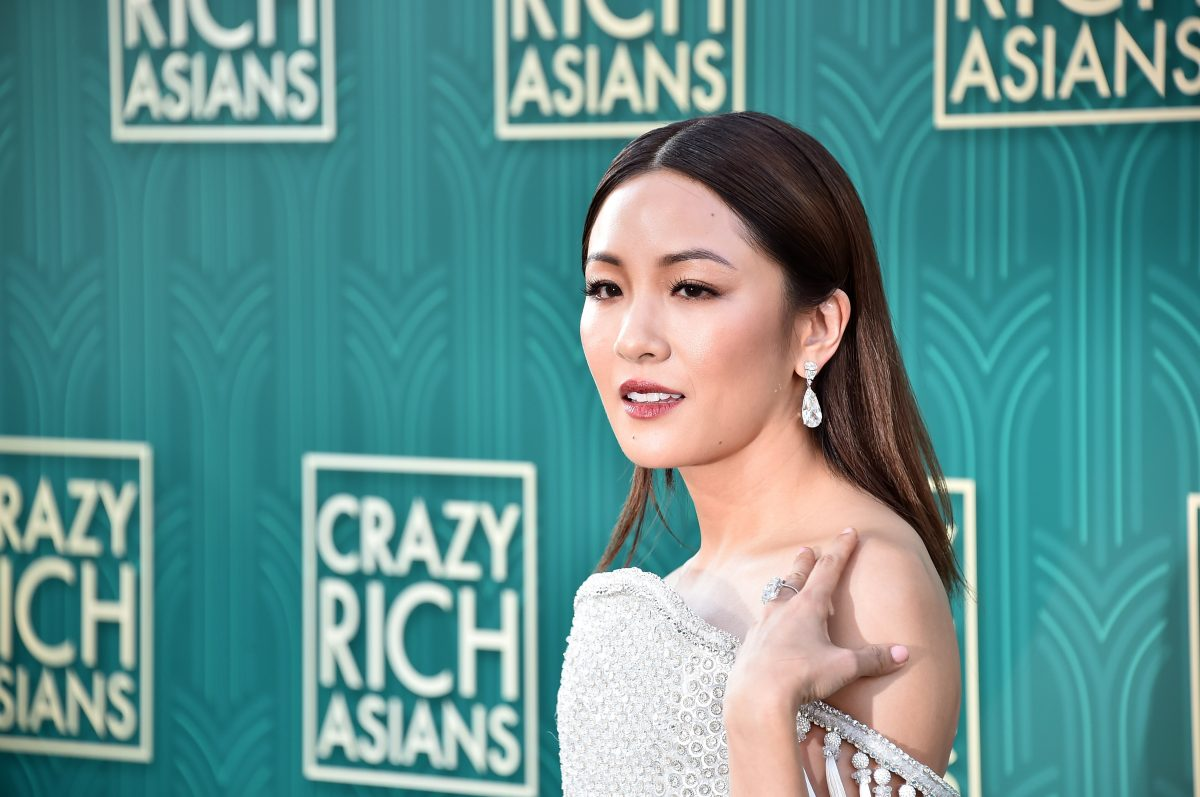 """HOLLYWOOD, CA - AUGUST 07: Constance Wu attends the premiere of Warner Bros. Pictures' """"Crazy Rich Asiaans"""" at TCL Chinese Theatre IMAX on August 7, 2018 in Hollywood, California. (Photo by Alberto E. Rodriguez/Getty Images)"""