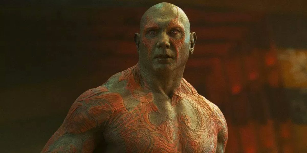 Guardians of the Galaxy stars Dave Bautista as Drax