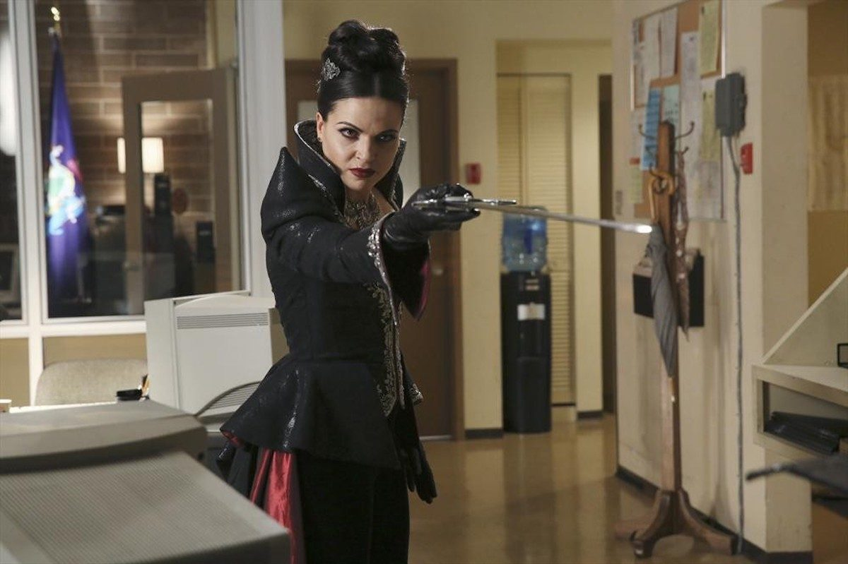 Lana Parrilla as Regina in ABC's Once Upon a Time