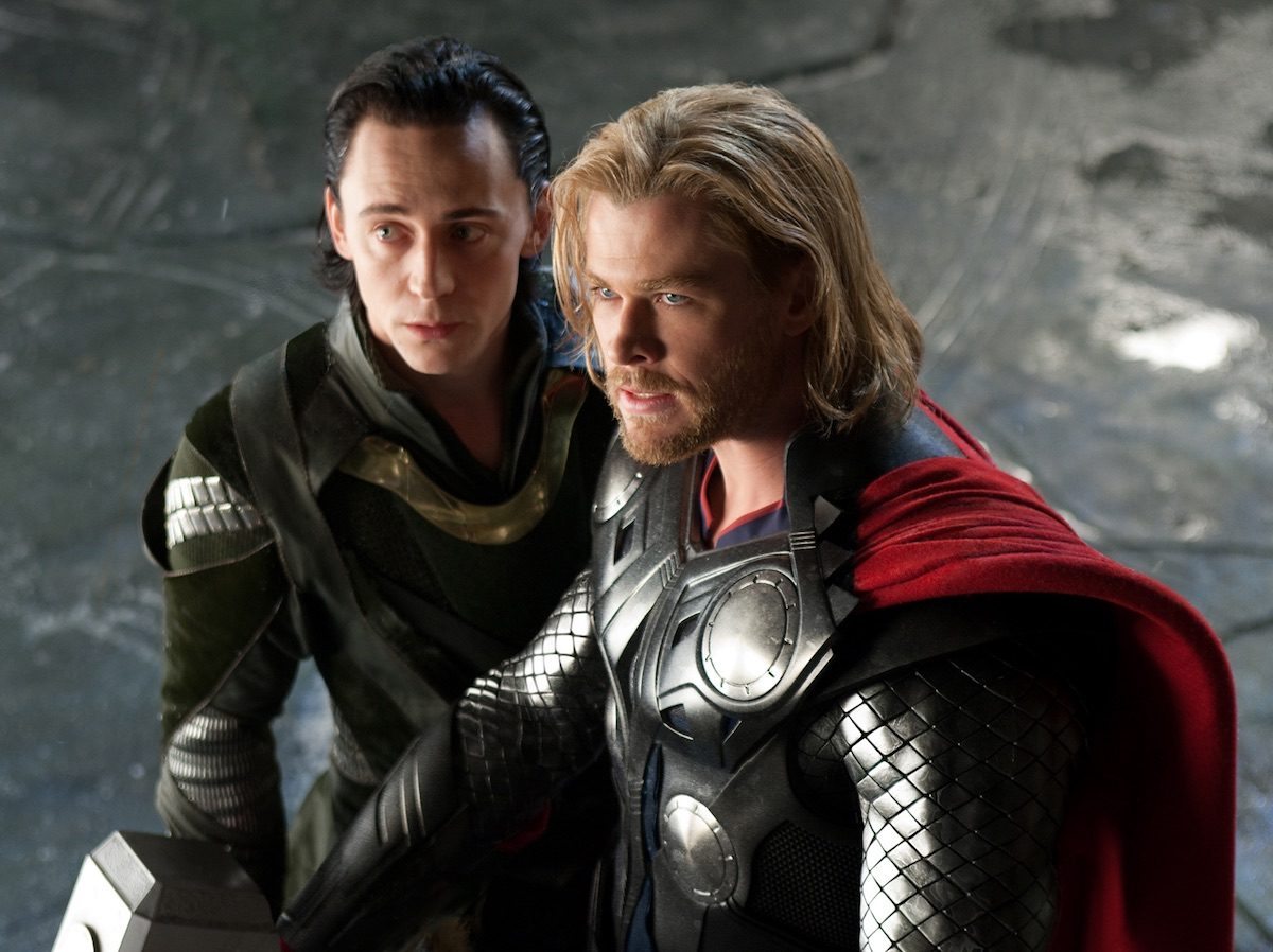 Loki and Thor in 'Thor'