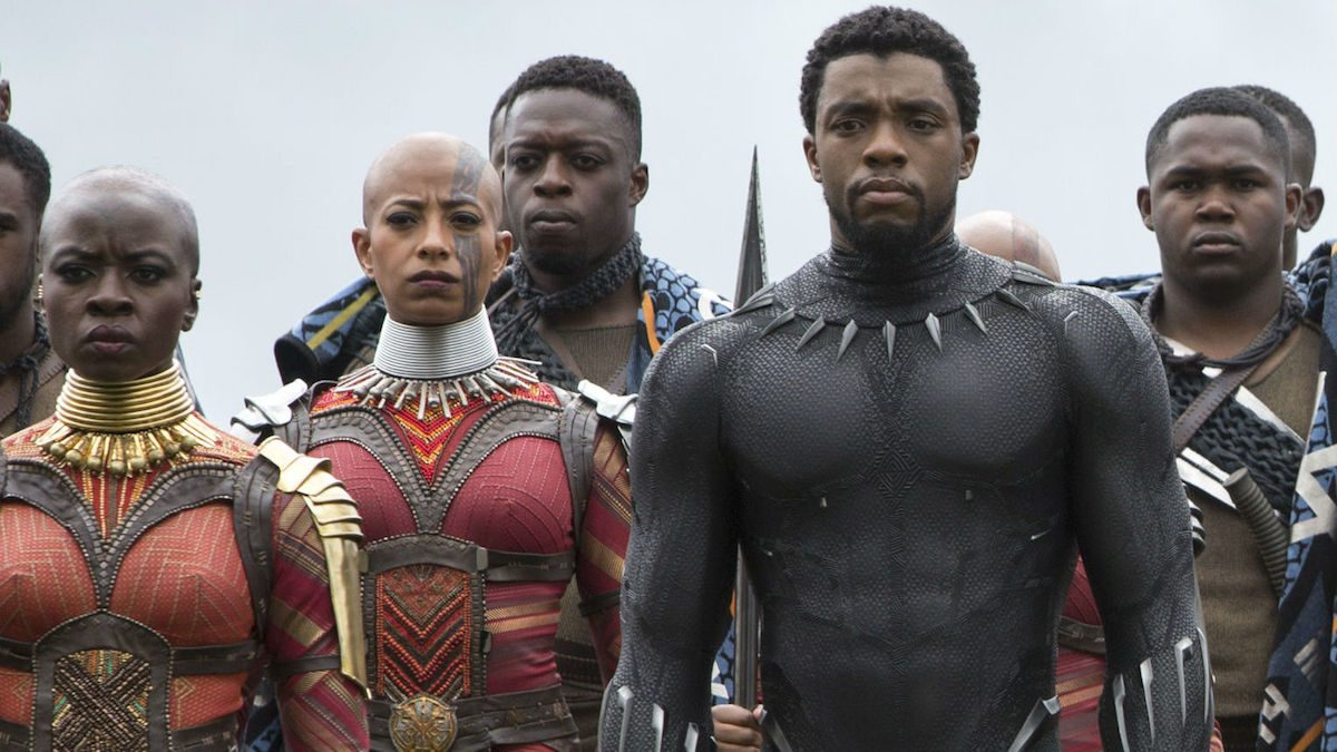 Black Panther and T'Challa in Infinity War