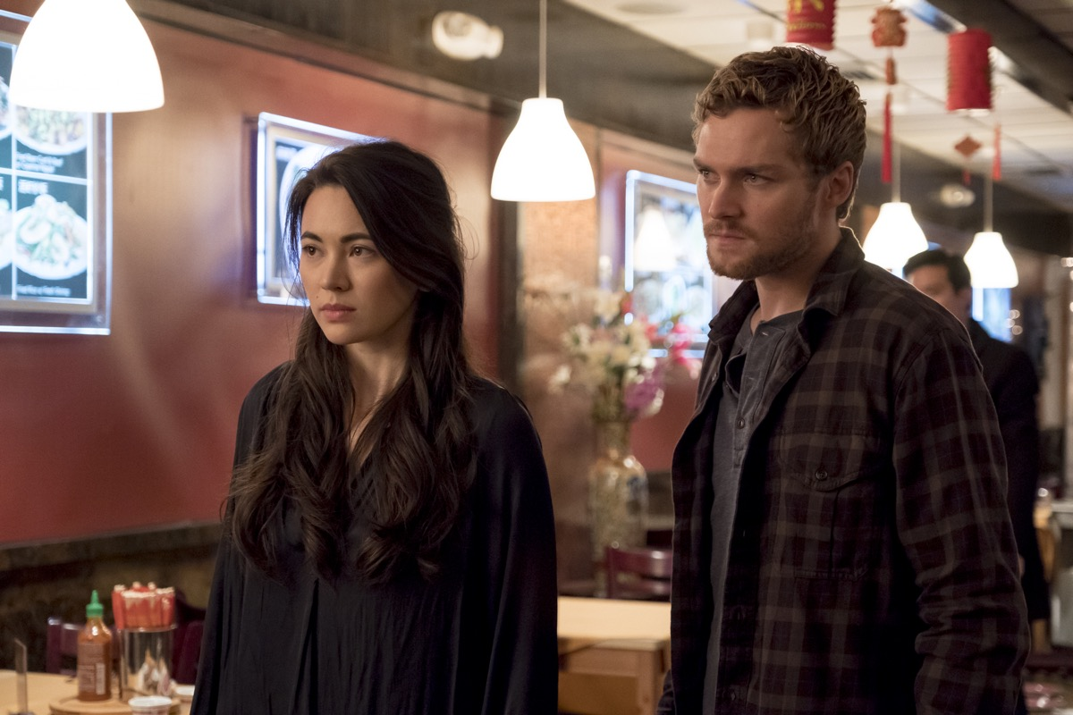 Danny Rand and Colleen Wing in Netflix and Marvel's Iron Fist