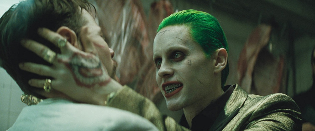 Jared Leto and Ike Barinholtz in Suicide Squad (2016)
