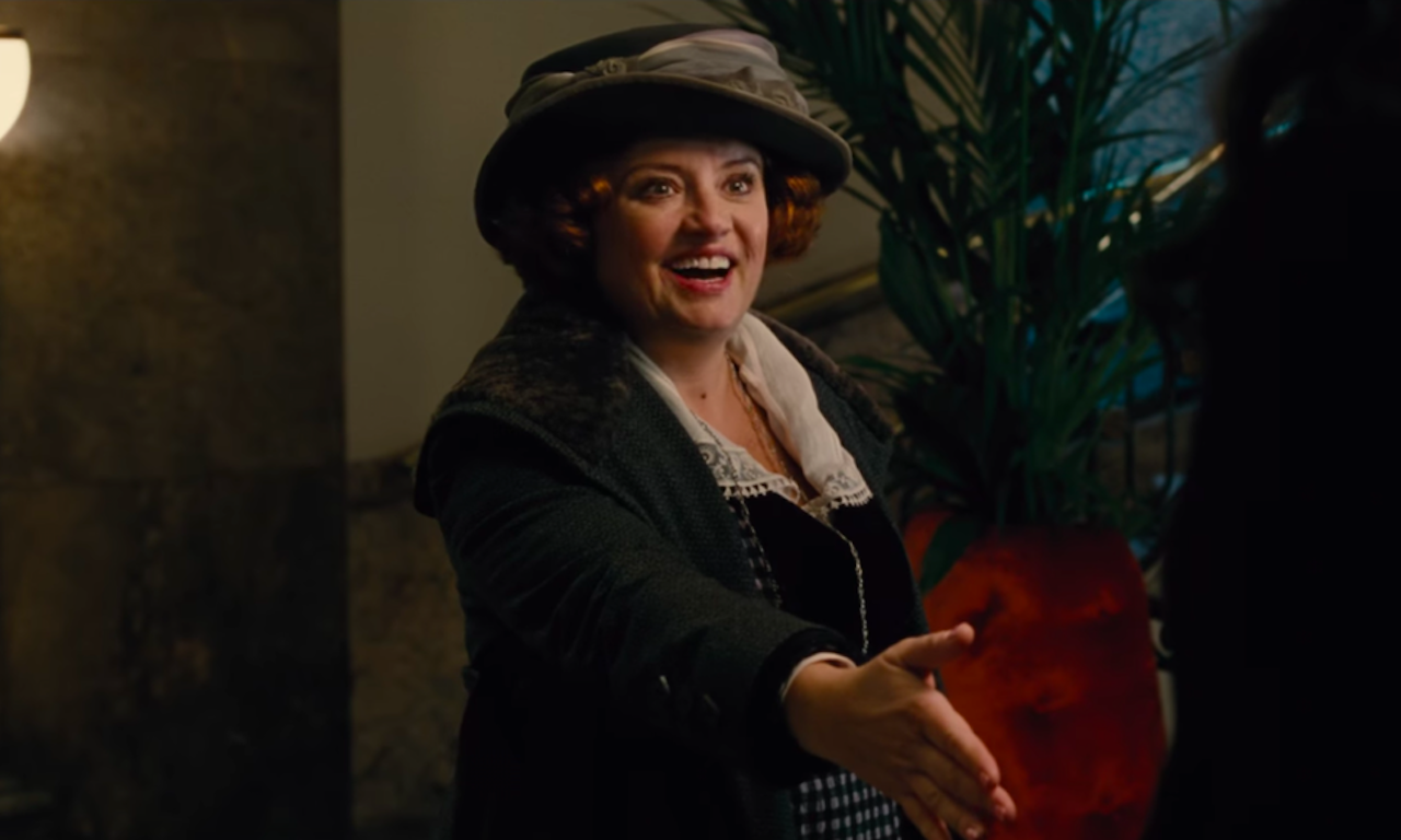 Wonder Woman featured Etta Candy in her first live action appearance, played by Lucy Davis