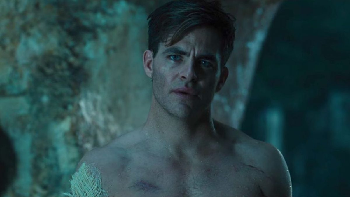Steve Trevor (Chris Pine) in Wonder Woman