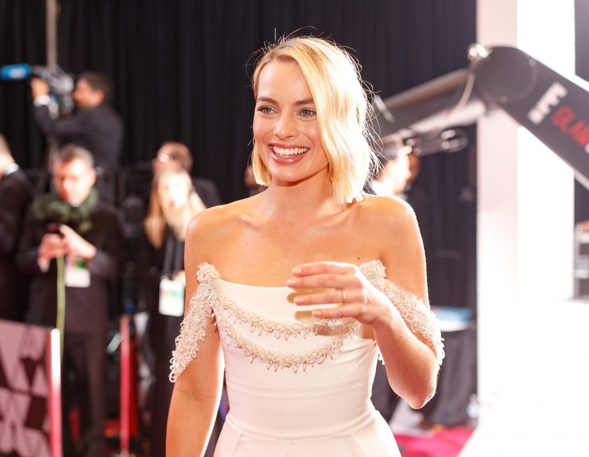 Margot Robbie at the Oscars in 2018.