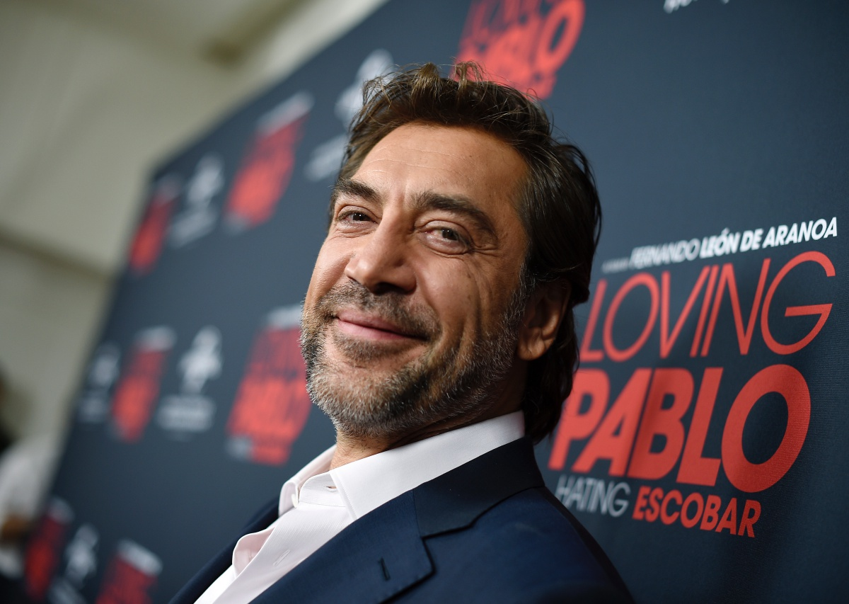 """WEST HOLLYWOOD, CA - SEPTEMBER 16: Javier Bardem poses during the Universal Pictures Home Entertainment Content Group's """"Loving Pablo"""" special screening at The London West Hollywood on September 16, 2018 in West Hollywood, California. (Photo by Kevork Djansezian/Getty Images)"""
