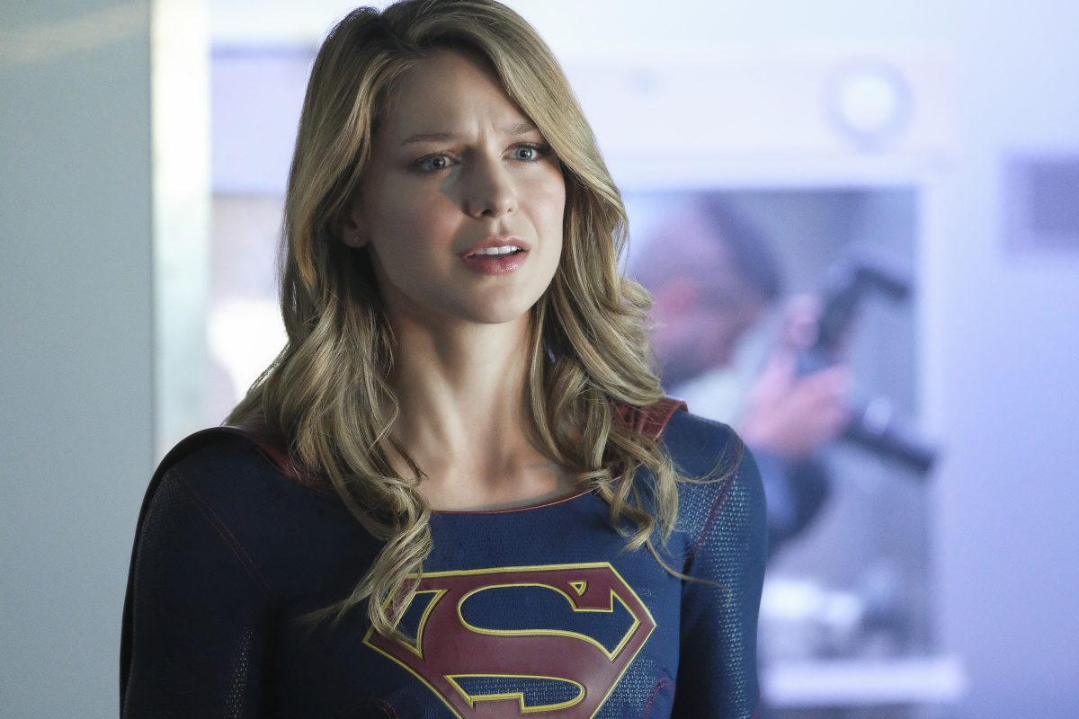 "Supergirl -- ""American Alien"" -- Image Number: SPG401b_0217b.jpg -- Pictured: Melissa Benoist as Kara/Supergirl -- Photo: Bettina Strauss/The CW -- © 2018 The CW Network, LLC. All Rights Reserved."