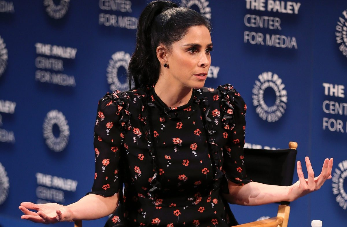 from ÒI Love You, America with Sarah SilvermanÓ appears on stage at The Paley Center for Media's 2018 PaleyFest Fall TV Previews - Hulu at The Paley Center for Media on September 7, 2018 in Beverly Hills, California.