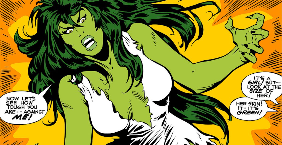 Jennifer Walters is She-Hulk