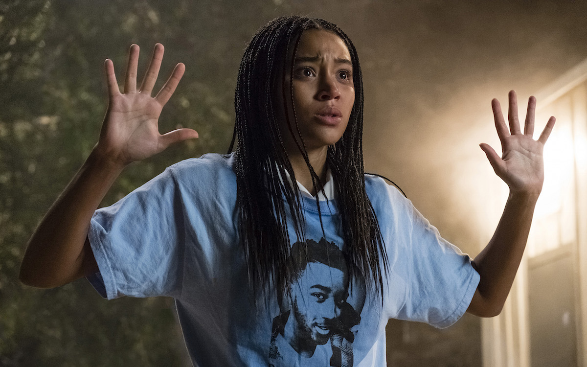 the hate u give, amandla stenberg, movie, review, angie thomas, book