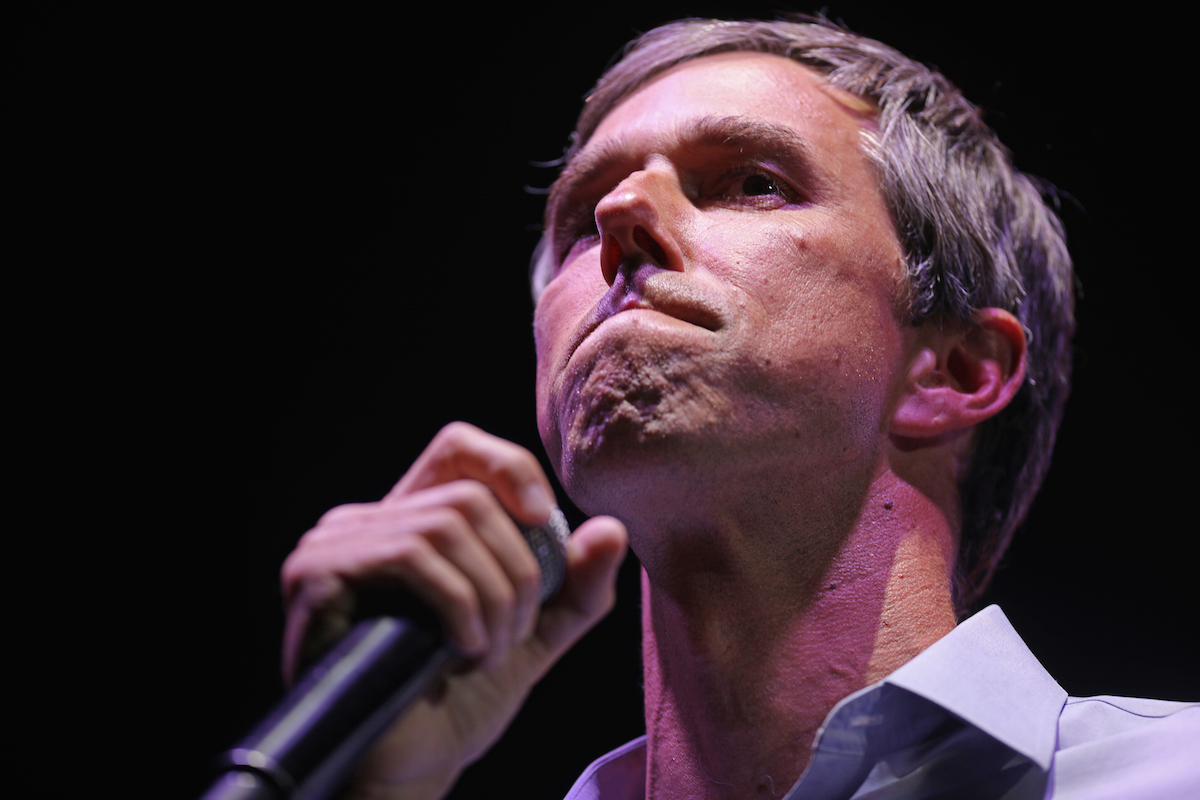 Beto O'Rourke, ted cruz, thank you, letter, email