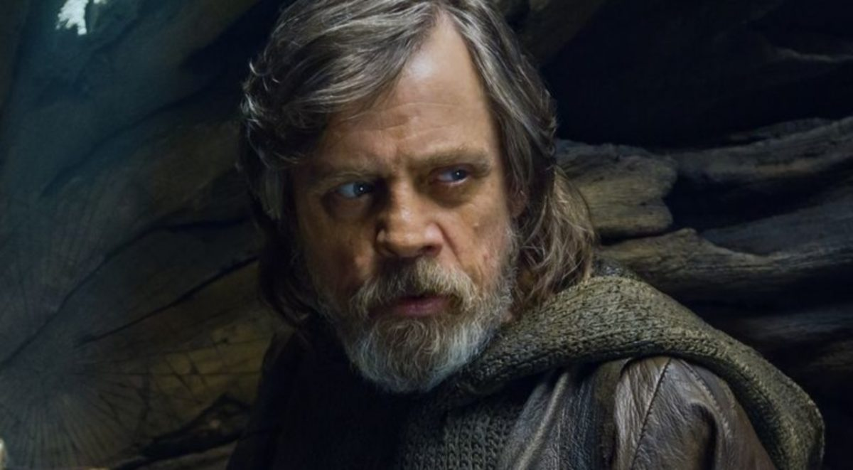 Mark Hamill as Luke Skywalker in 'Star Wars: The Last Jedi'