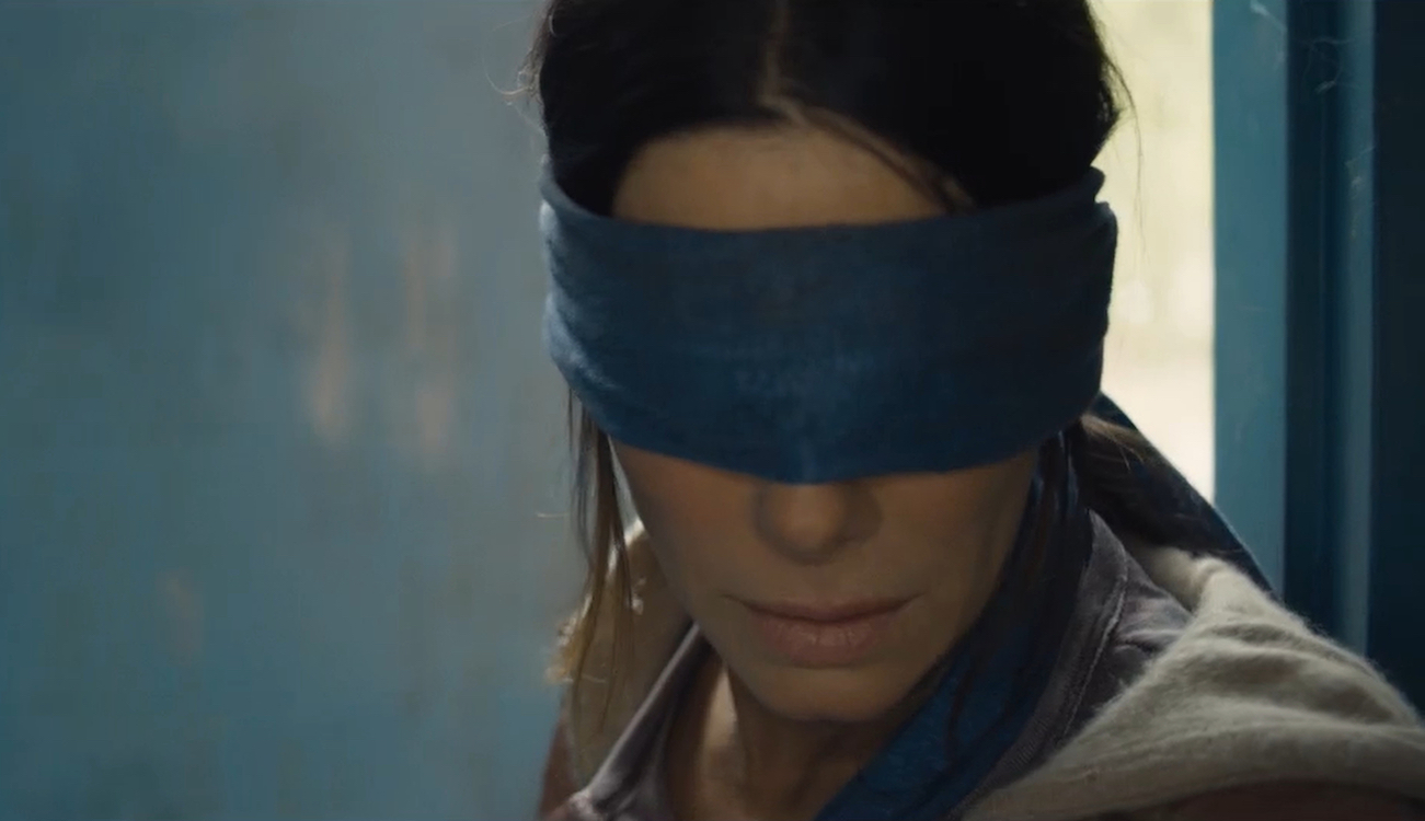 Bird Box, monster