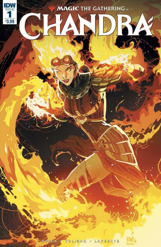 CHANDRA #1 Cover