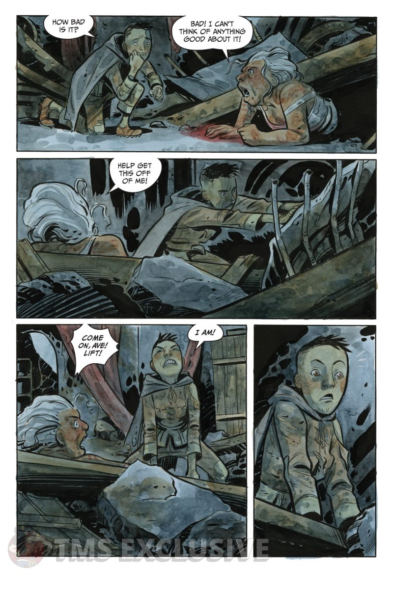 the stone king #2 page 4