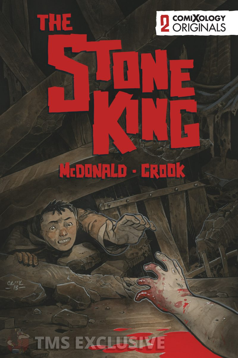 the stone king #2 cover