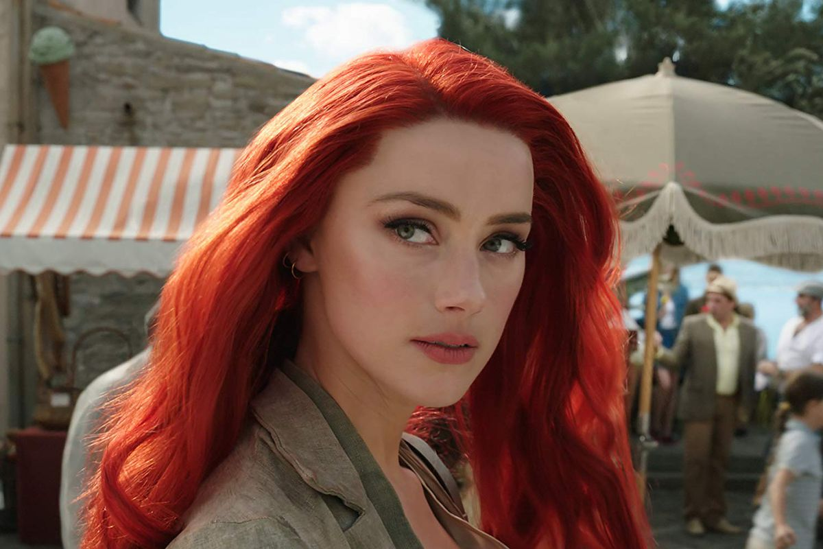 Amber Heard as Mera in 'Aquaman'