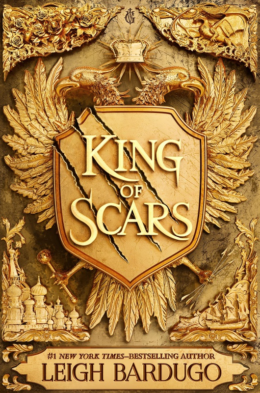King of Scars (King of Scars Duology) by Leigh Bardugo (January 29, 2019)-Imprint