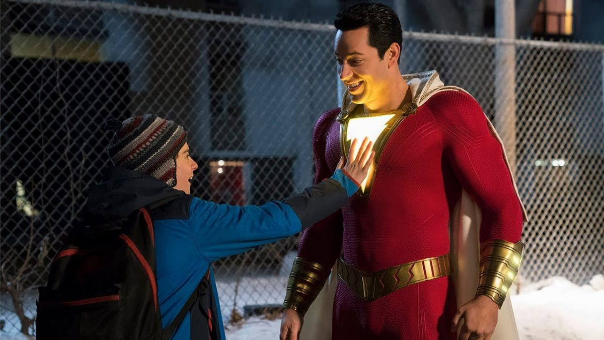 zachary levi is shazam.