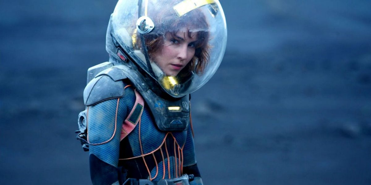 Noomi Rapace plays Elizabeth Shaw in Alien spin-off Prometheus.
