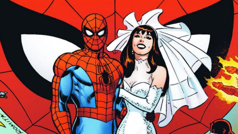 Peter and MJ getting married before some demon breaks them up