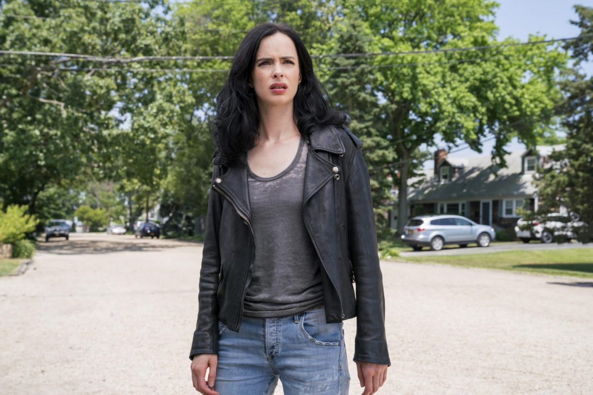 krysten ritter as jessica jones in the eponymous netflix series