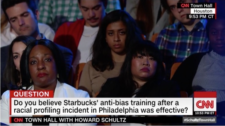 shultz race audience reaction