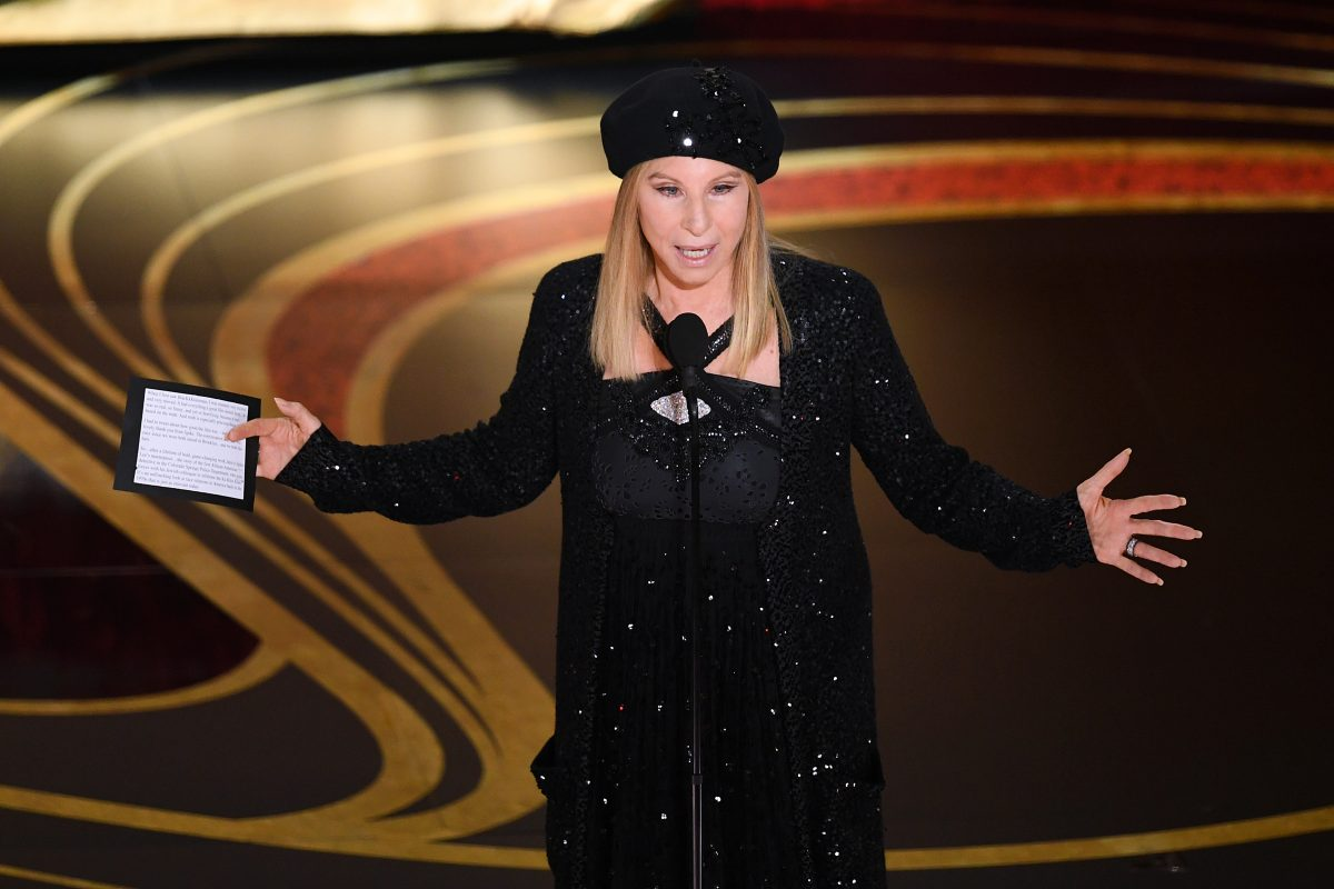 Barbra Streisand is back with the worst possible take.