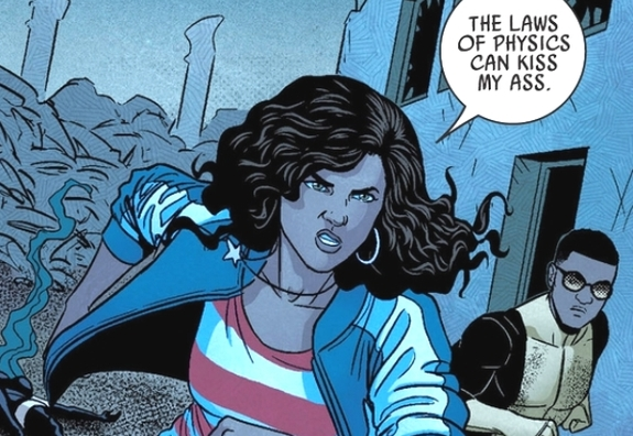 America Chavez in Young Avengers.