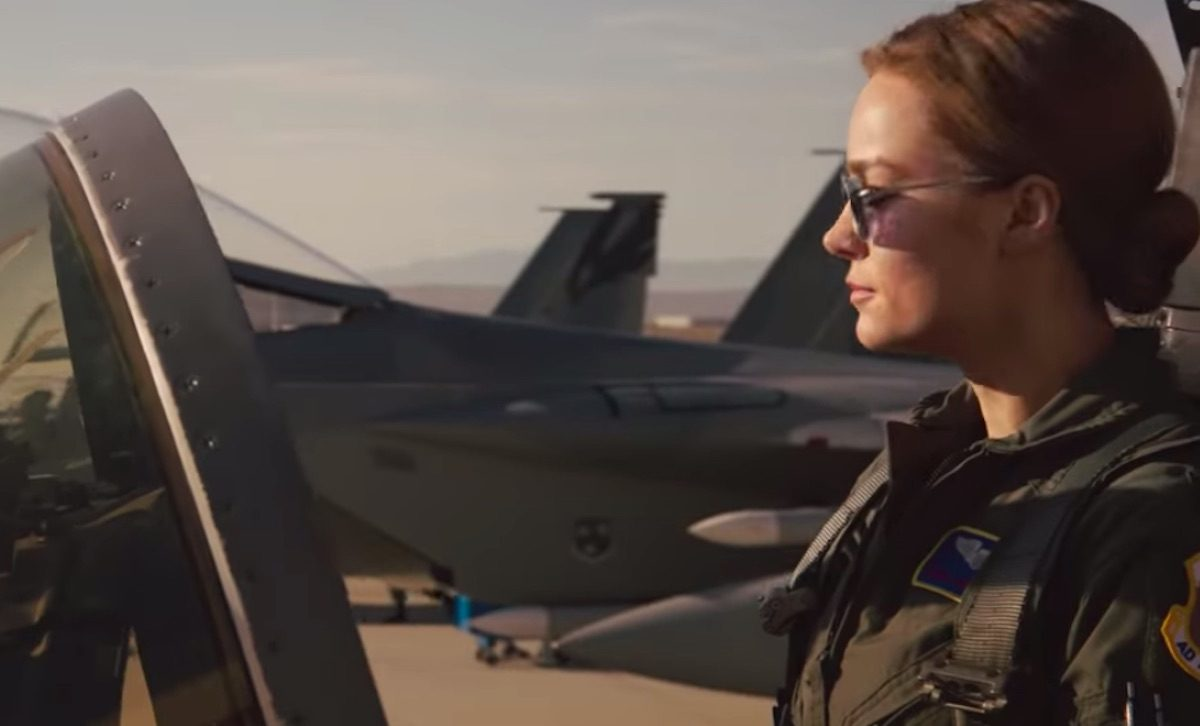 brie larson as carol danvers in captain marvel