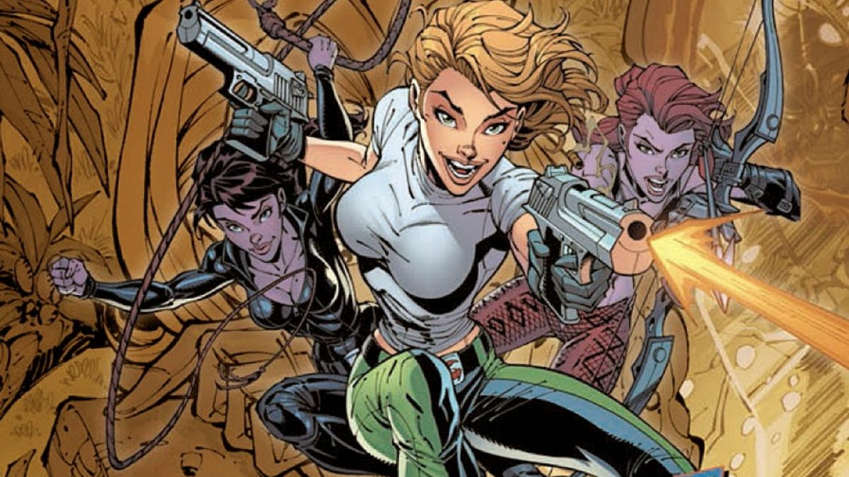 J. Scott Campbell and Andy Hartnell's Danger Girl is becoming a movie.