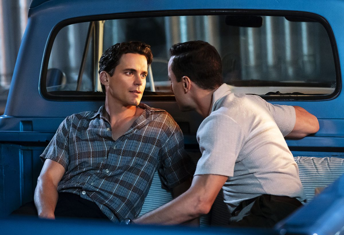 Matt Bomer and Kyle Clements as Larry Trainor and John Bowers in Doom Patrol..