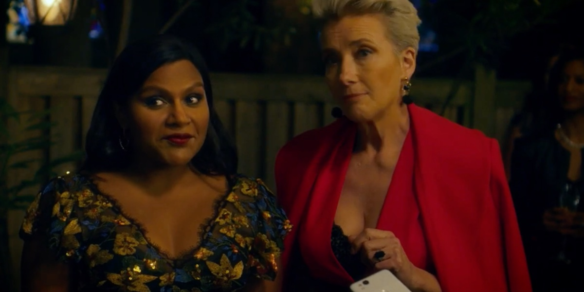 Mindy Kaling and Emma Thompson star in Late Night.